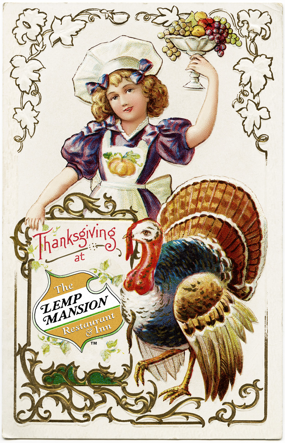 The lemp mansion st louis missouri 314 664 8024 for Thanksgiving dinner with all the trimmings